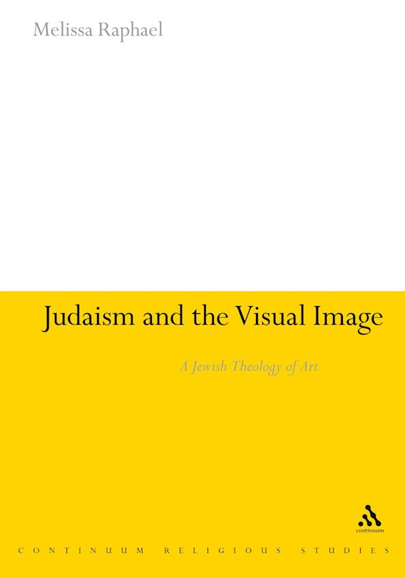 Judaism and the Visual Image cover