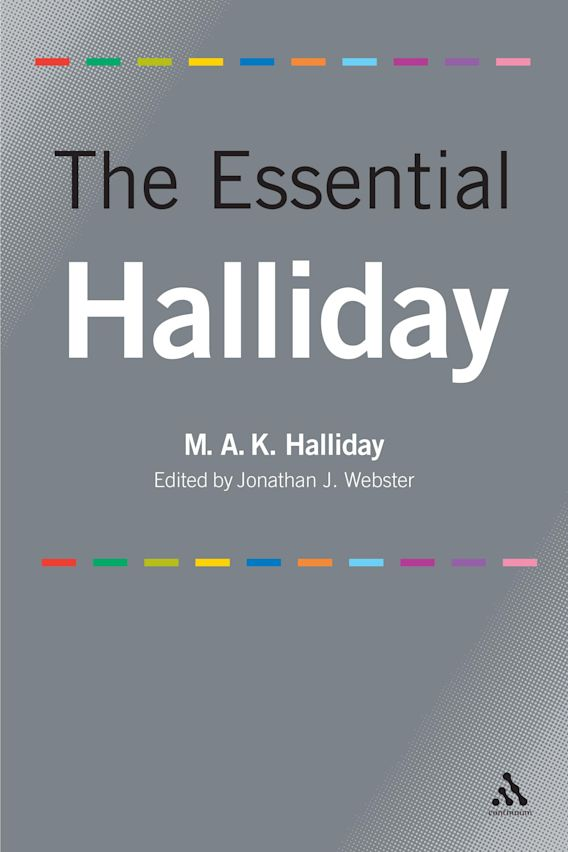 The Essential Halliday cover