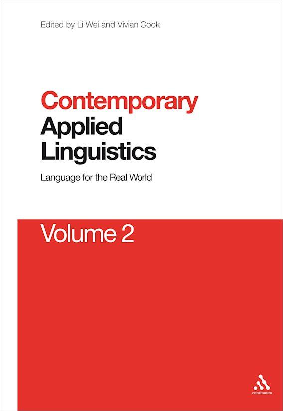 Contemporary Applied Linguistics Volume 2 cover