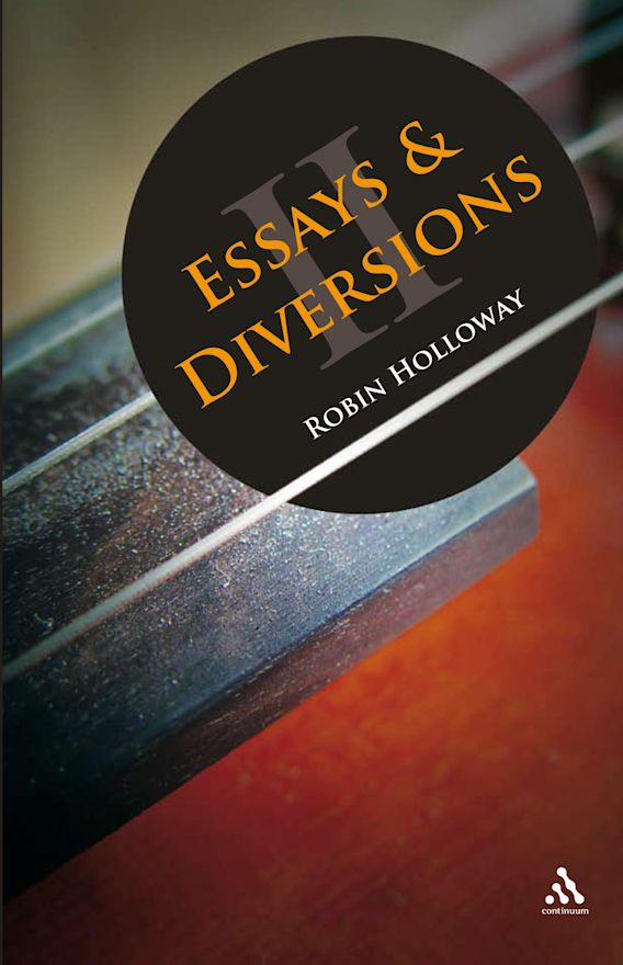 Essays and Diversions cover