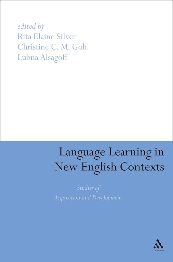 Language Learning in New English Contexts cover
