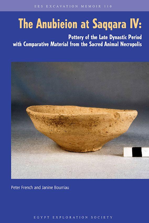 The Anubieion at Saqqara Iv cover