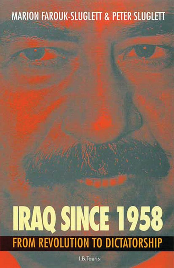Iraq Since 1958 cover
