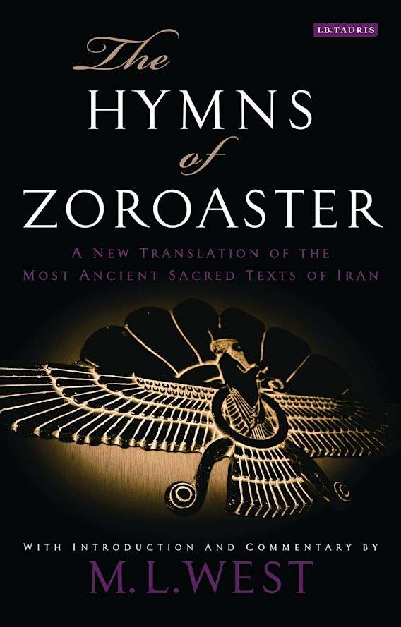 The Hymns of Zoroaster cover