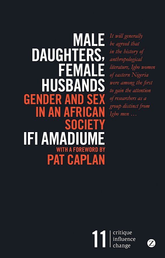 Male Daughters, Female Husbands cover