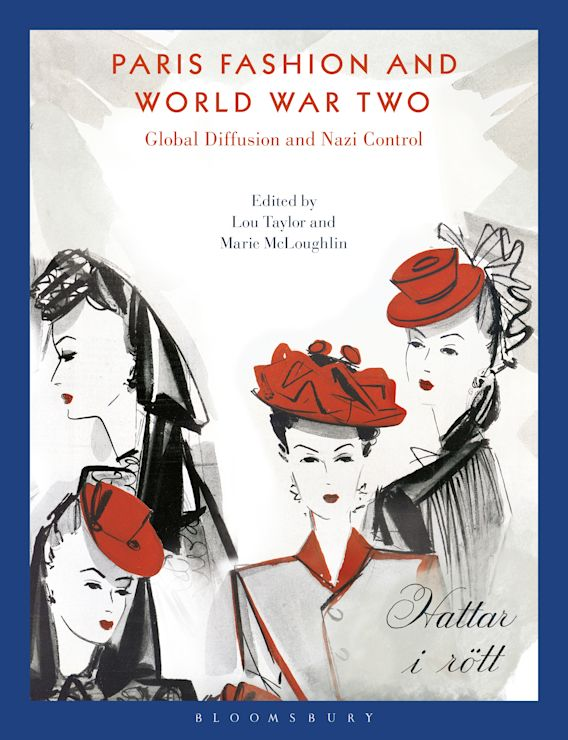 Paris Fashion and World War Two cover