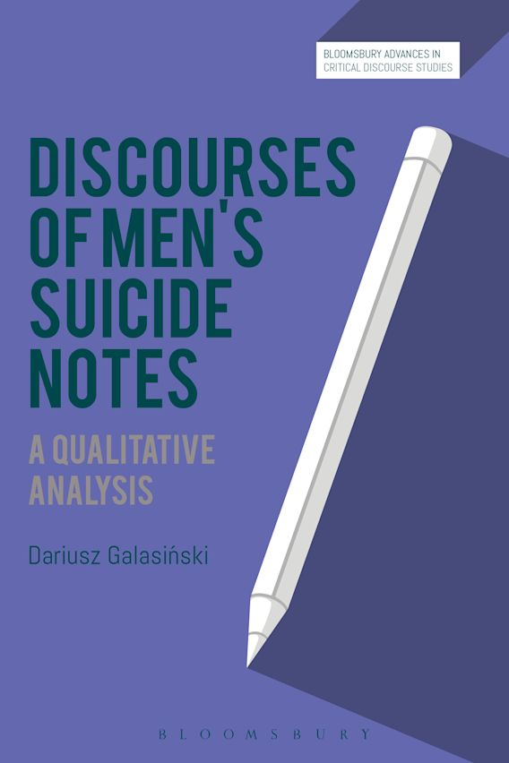 Discourses of Men's Suicide Notes cover