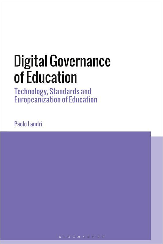Digital Governance of Education cover