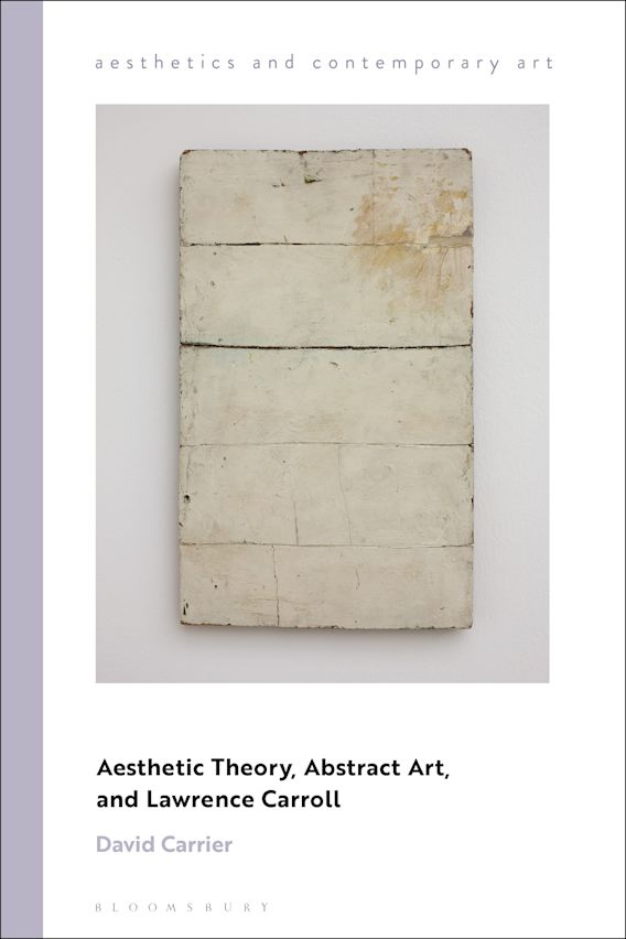 Aesthetic Theory, Abstract Art, and Lawrence Carroll cover
