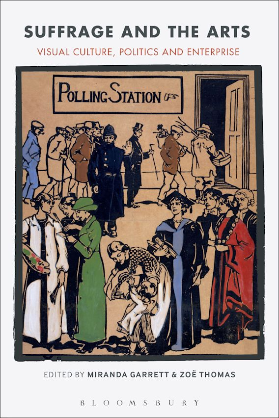 Suffrage and the Arts cover