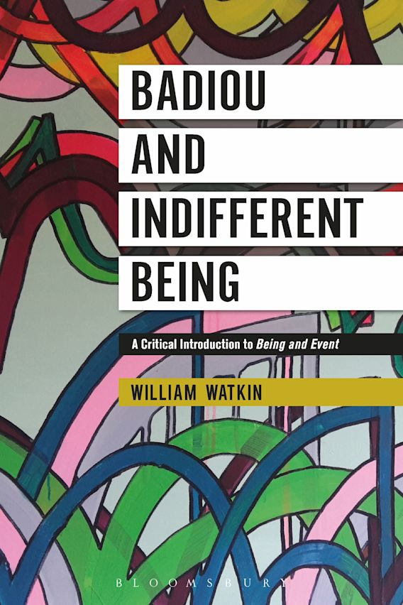 Badiou and Indifferent Being cover