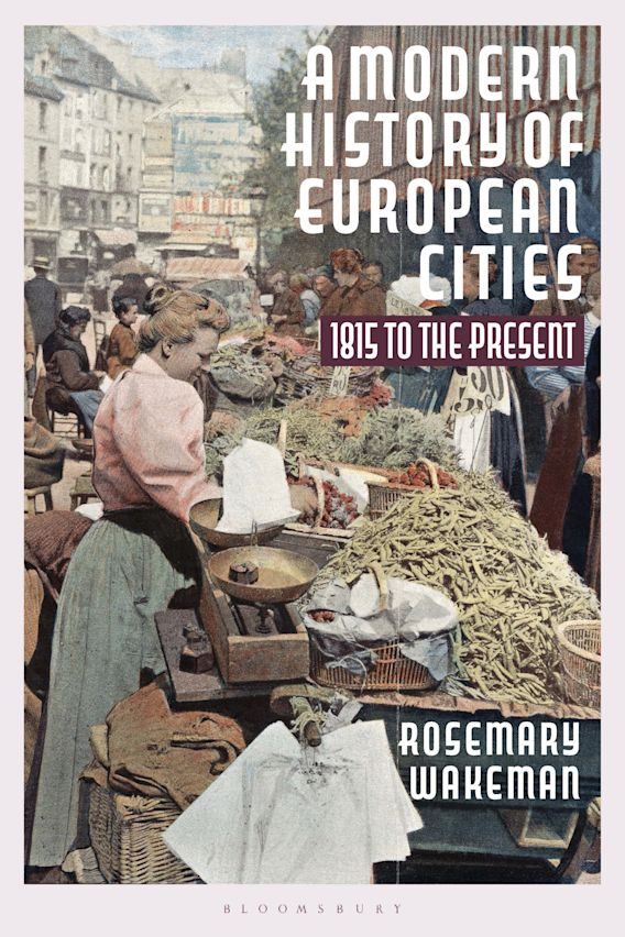 A Modern History of European Cities cover