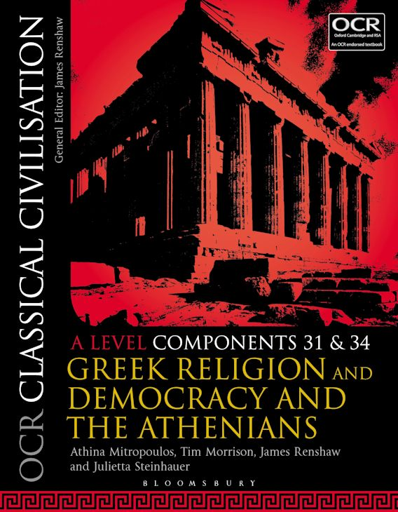 OCR Classical Civilisation A Level Components 31 and 34 cover