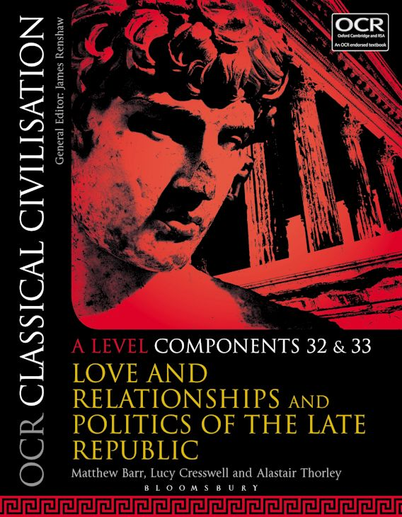 OCR Classical Civilisation A Level Components 32 and 33 cover