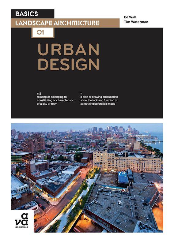 Basics Landscape Architecture 01: Urban Design cover