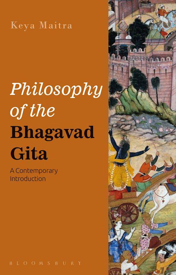 Philosophy of the Bhagavad Gita cover