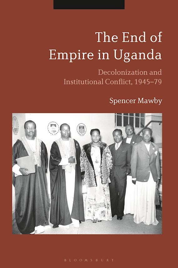 The End of Empire in Uganda cover