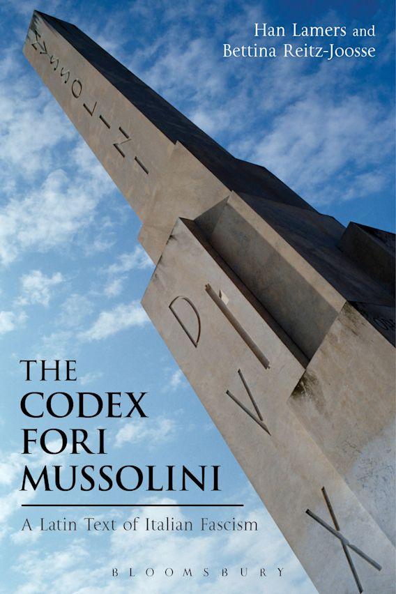 The Codex Fori Mussolini cover