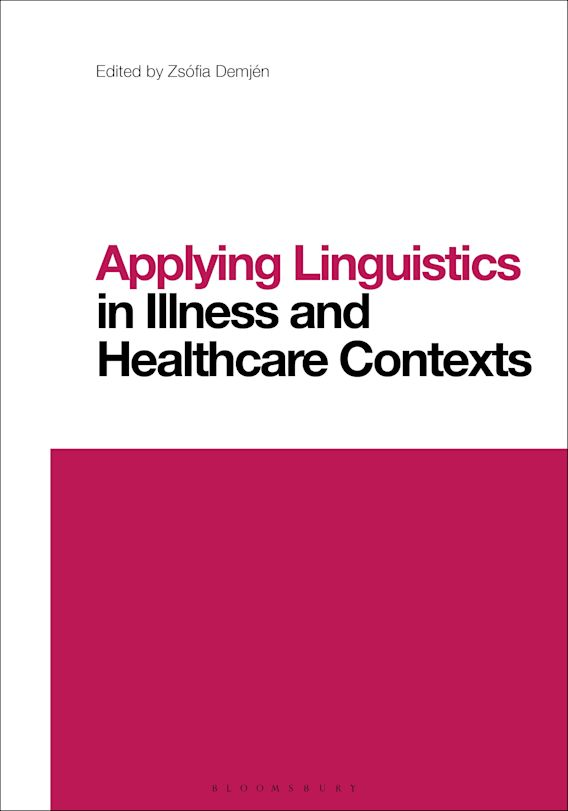 Applying Linguistics in Illness and Healthcare Contexts cover