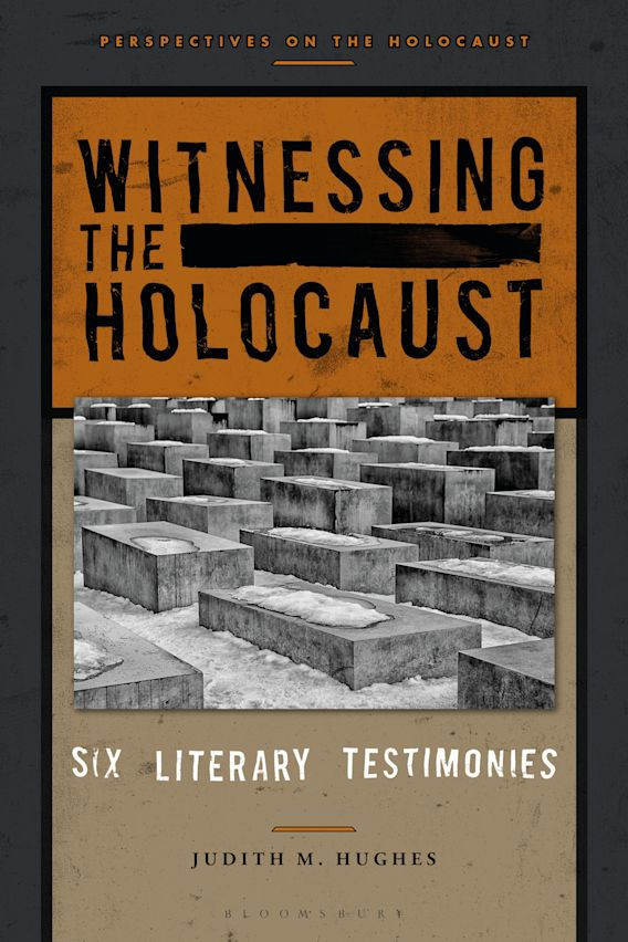 Witnessing the Holocaust cover