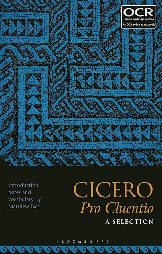 Cicero, Pro Cluentio: A Selection cover