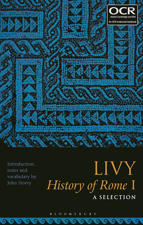 Livy, History of Rome I: A Selection cover