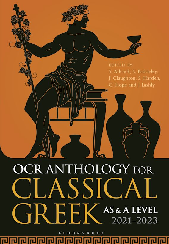 OCR Anthology for Classical Greek AS and A Level: 2021–2023 cover