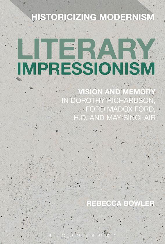 Literary Impressionism cover