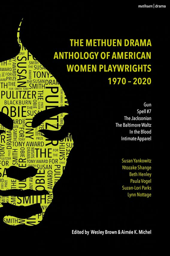 The Methuen Drama Anthology of American Women Playwrights: 1970 - 2020 cover
