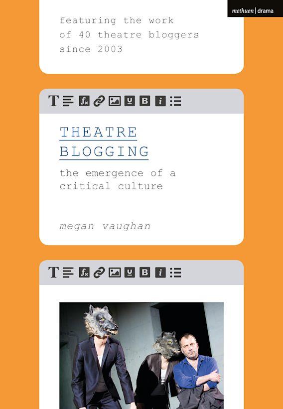 Theatre Blogging cover