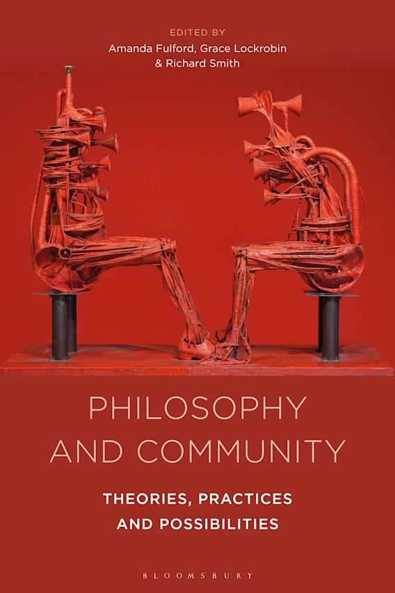 Philosophy and Community cover
