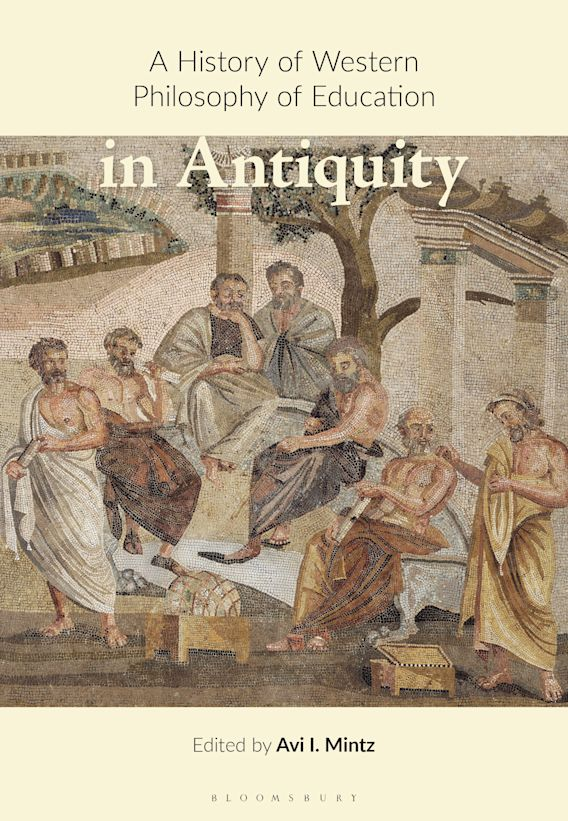 A History of Western Philosophy of Education in Antiquity cover