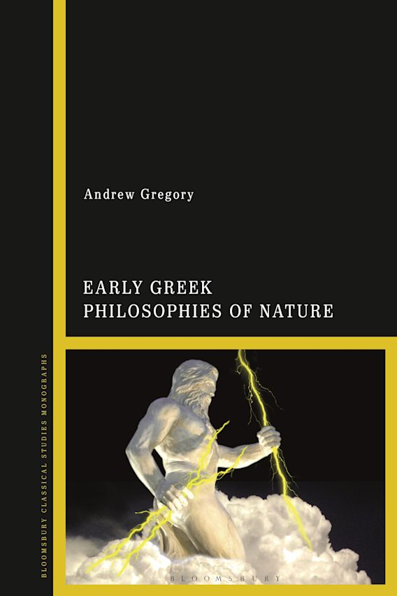 Early Greek Philosophies of Nature cover