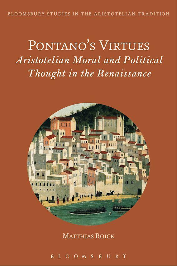 Pontano's Virtues cover