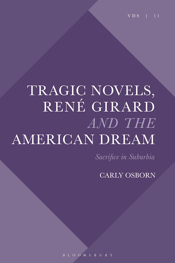 Tragic Novels, René Girard and the American Dream cover