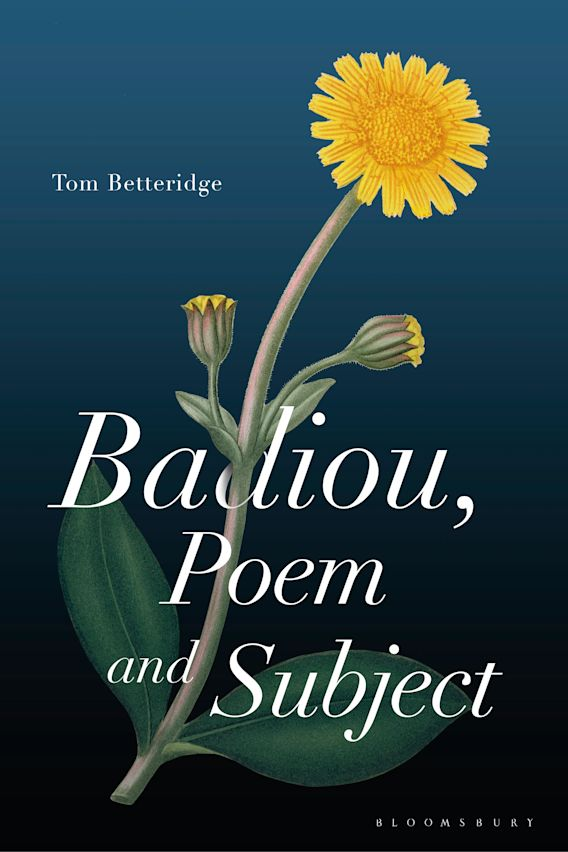 Badiou, Poem and Subject cover