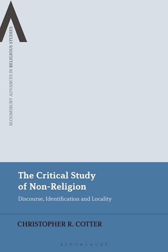 The Critical Study of Non-Religion cover
