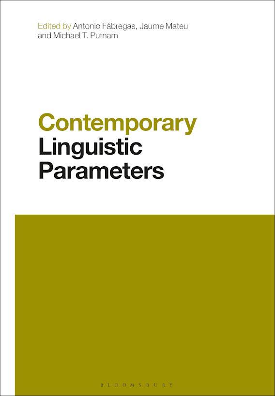 Contemporary Linguistic Parameters cover