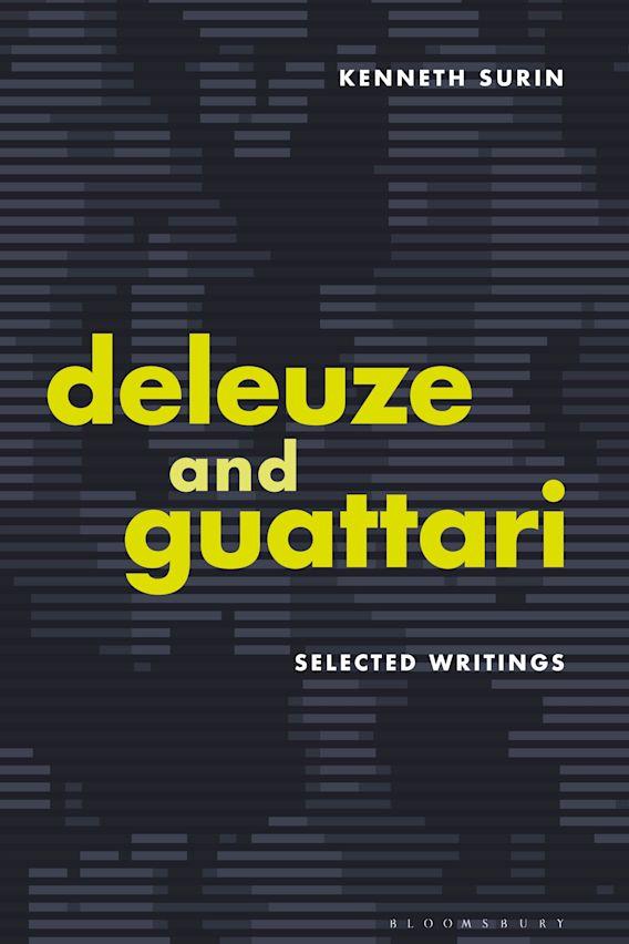 Deleuze and Guattari cover