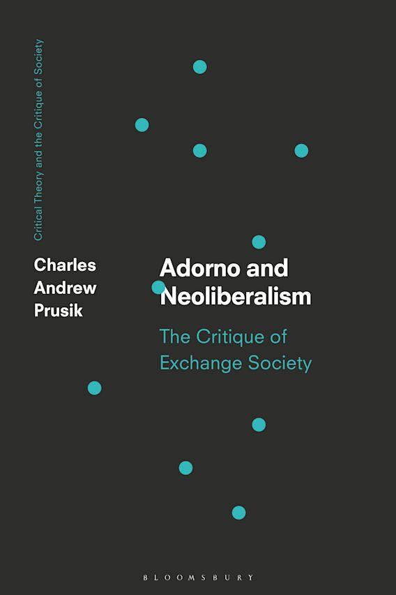 Adorno and Neoliberalism cover