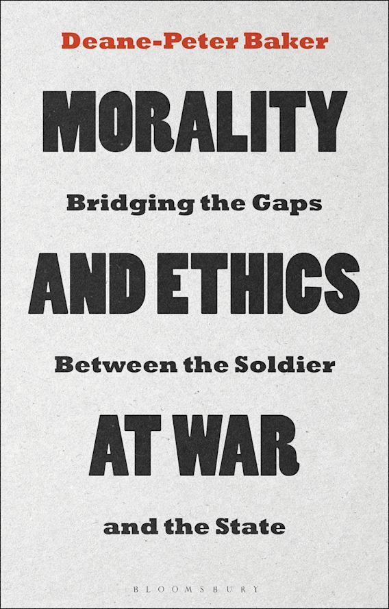Morality and Ethics at War cover