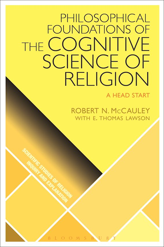 Philosophical Foundations of the Cognitive Science  of Religion cover