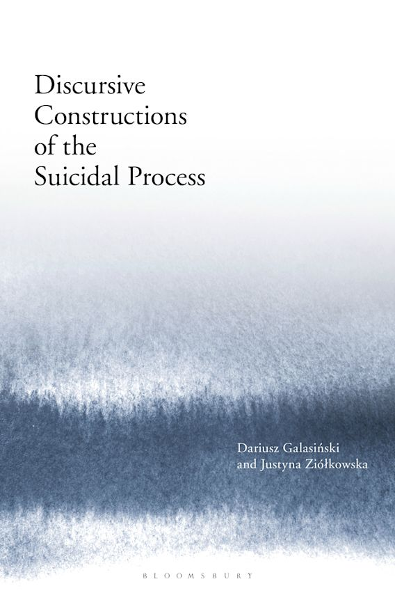 Discursive Constructions of the Suicidal Process cover