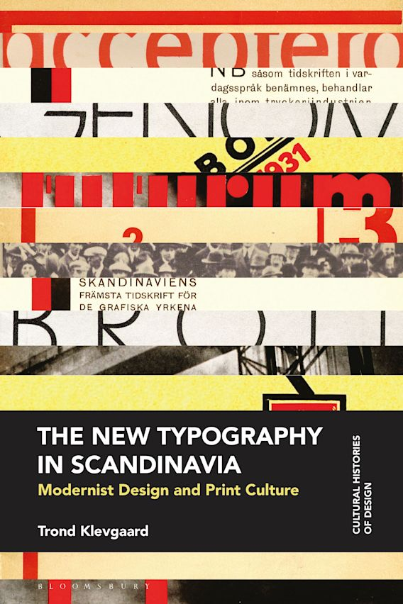 The New Typography in Scandinavia cover