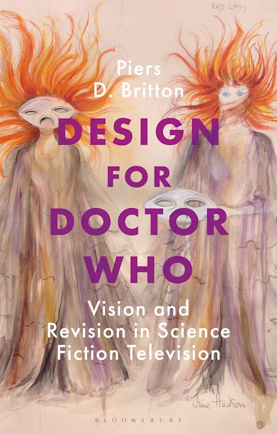 Design for Doctor Who cover
