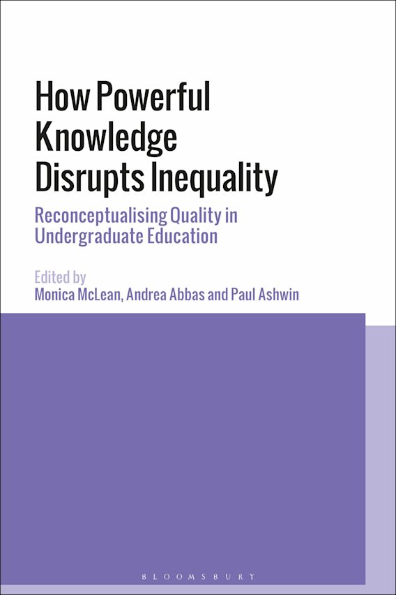 How Powerful Knowledge Disrupts Inequality cover