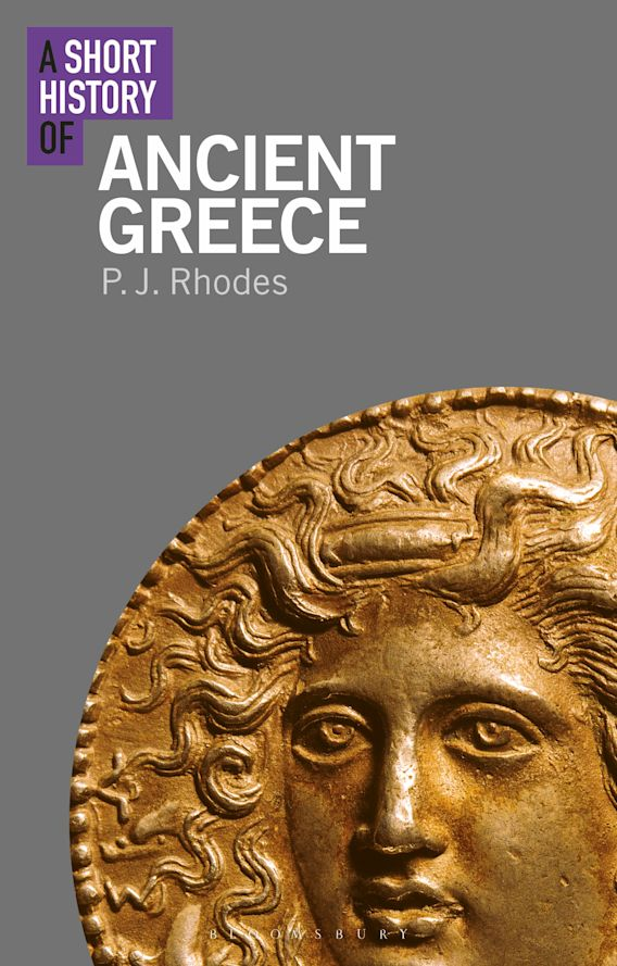 A Short History of Ancient Greece cover