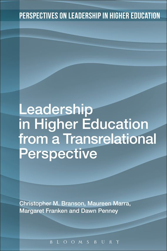 Leadership in Higher Education from a Transrelational Perspective cover