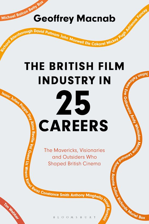 The British Film Industry in 25 Careers cover