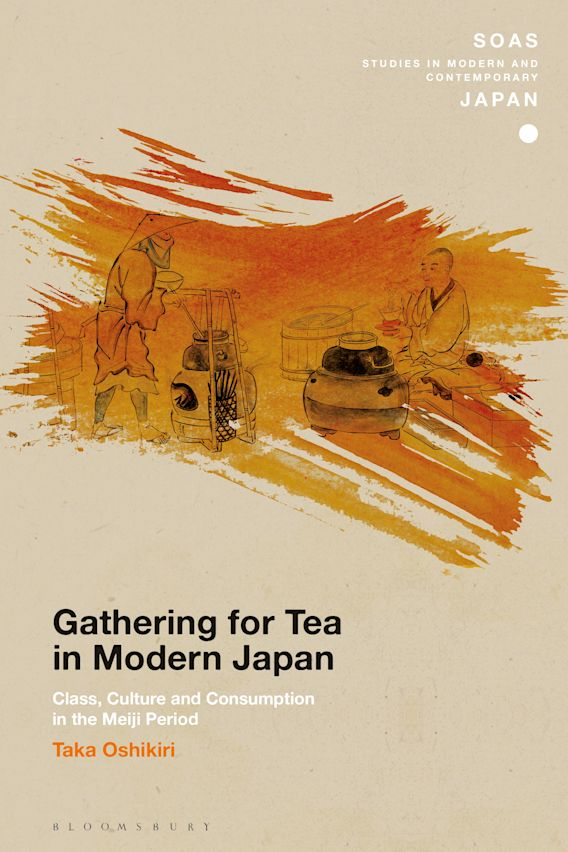 Gathering for Tea in Modern Japan cover